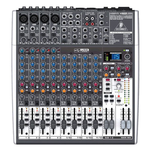 Behringer Xenyx X1622USB 16 Channel Mixer with USB Interface