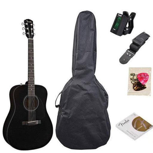 Fender CD60 Dreadnought Acoustic Guitar Pack