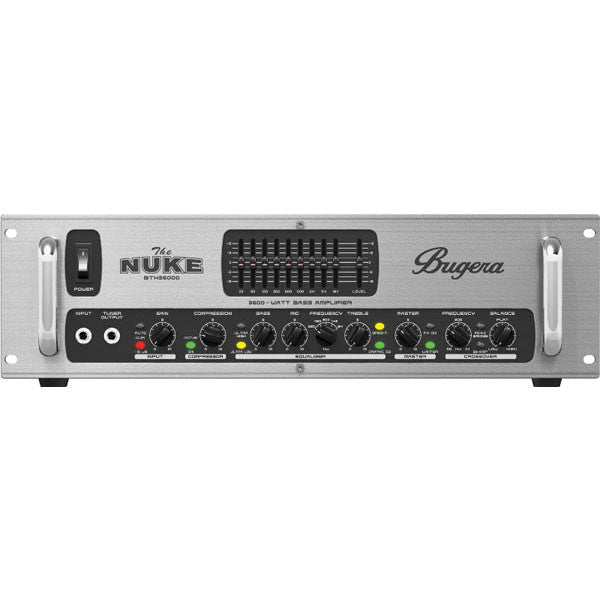 Bugera BTX36000 3600 Watt True Bi-Amping Stereo Bass Amplifier Head