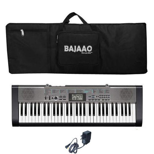 Casio CTK-1300 Standard Keyboard With Keyboard Bag and Power Adapter