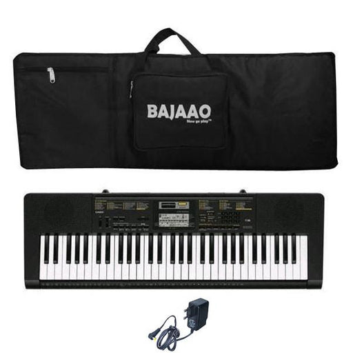 Casio CTK-2400 Portable Keyboard With Keyboard Gig bag and Power Adapter