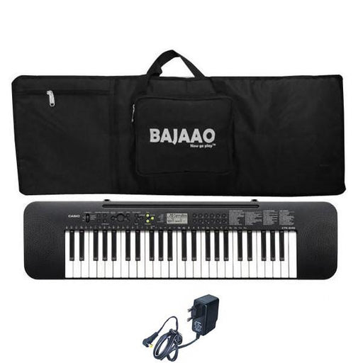 Casio CTK245 Musical Keyboard with Power Adapter and Gig Bag