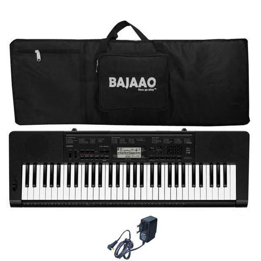 Casio CTK-3200 61-Key Portable Keyboard With Keyboard Gig bag And Power Adapter