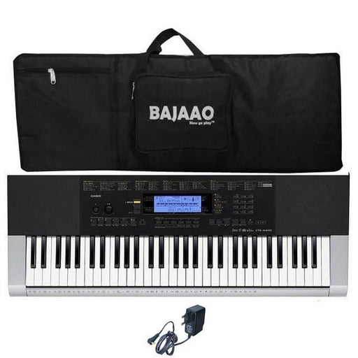 Casio CTK-4400 Portable Keyboard with Gigbag And Power Adapter