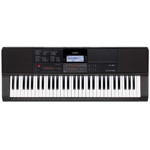 Casio CT-X700 61-Key Portable Keyboard With Adapter