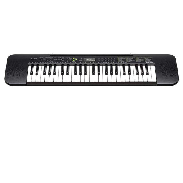 Casio CTK-240 Portable Musical Keyboard + Power Adapter