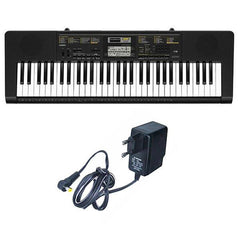 Casio CTK-2400 Portable Keyboard With Adapter