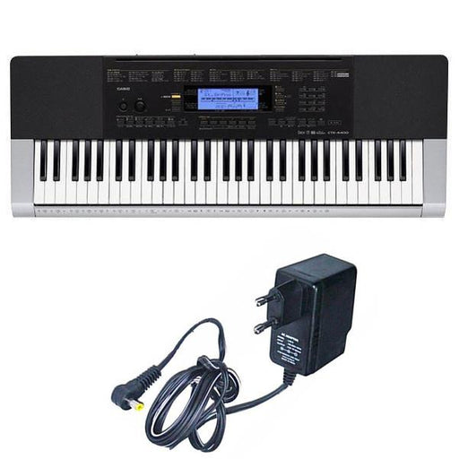 Casio CTK-4400 Portable Keyboard With Adapter