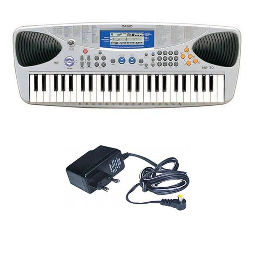 Casio MA150 49-Keys Digital Portable Keyboard With Power Adapter