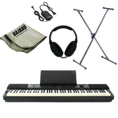 Casio Privia PX-350MBK/WE Digital Piano with Stand, Headphones, Polishing Cloth and Power Adapter