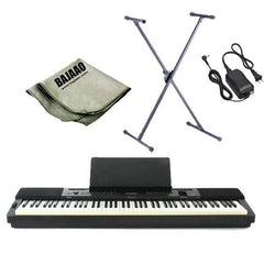 Casio Privia PX-350MBK/WE Digital Piano with Stand, Polishing Cloth and Power Adapter