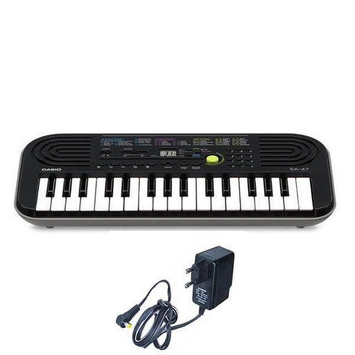 Casio SA47 Mini Portable Keyboard With Power Adapter