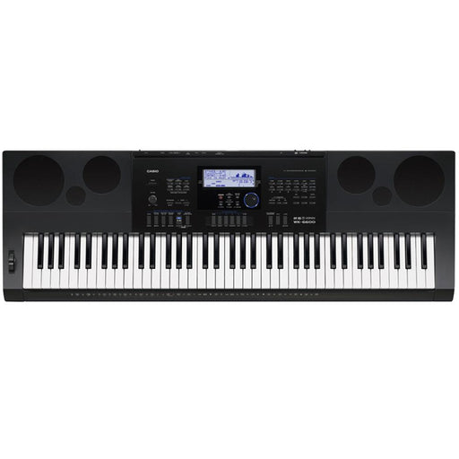 Casio WK-6600 High Grade 76-Key Arranger Keyboard With Adapter