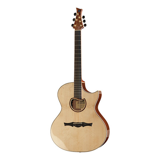 Cuntz Guitar CWG-23S Pommele Custom Cutaway Acoustic Guitar - Natural High Gloss