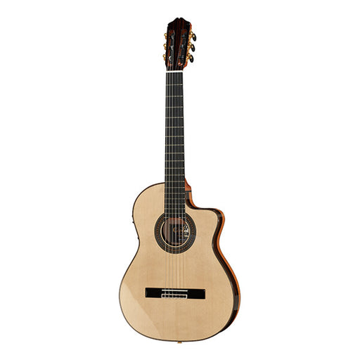 Cordoba 55FCE Thinbody Negra Cutaway Classical Guitar - Natural