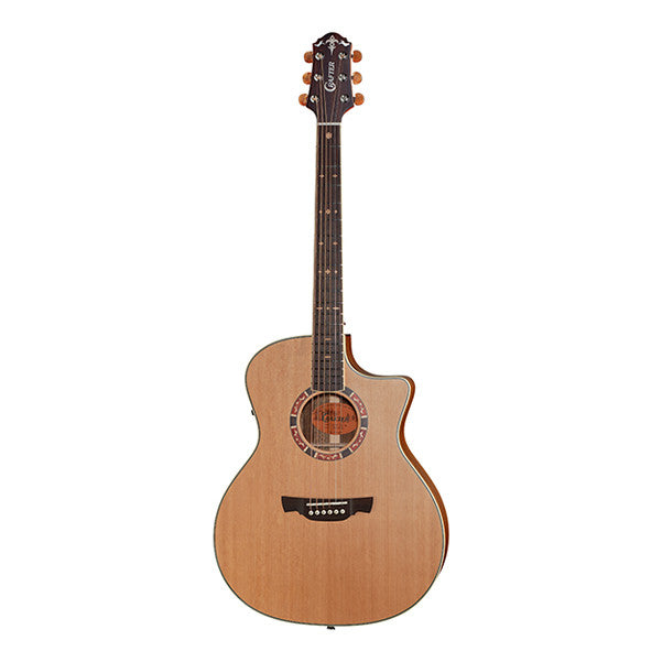 Crafter GAE-15 Cutaway Electro Acoustic Guitar - Natural