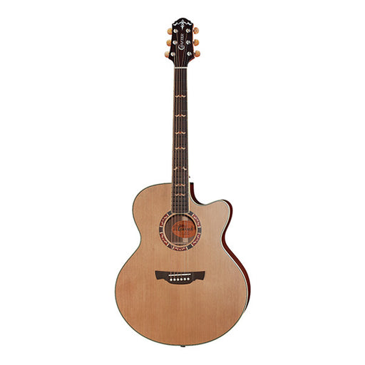 Crafter JE-18 Cutaway Electro Acoustic Guitar - Natural
