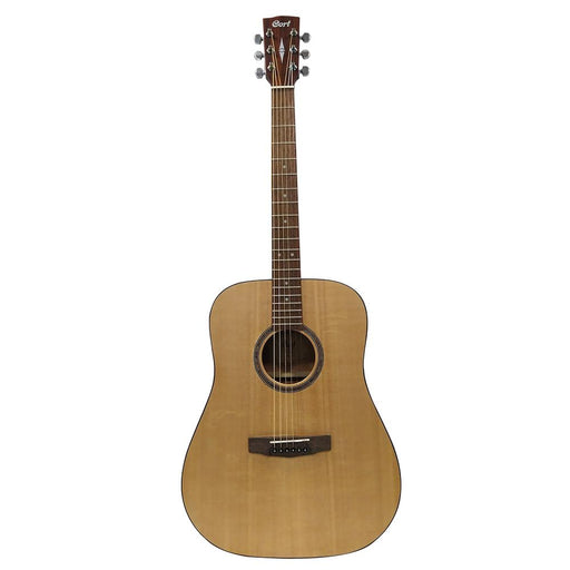 Cort AD 850 Solid Top 6 String Electro Acoustic Guitar - Open Pore