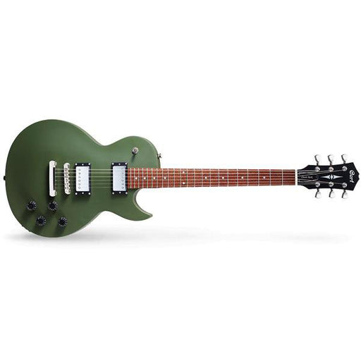Cort CR-150 6-String Electric Guitar - Olive Drab Satin