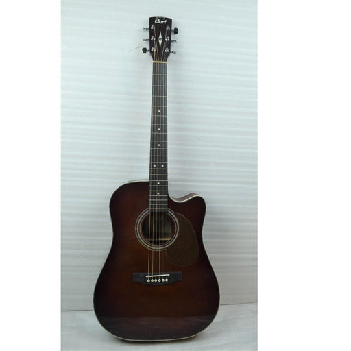 Cort MR500E Dreadnought Cutaway Electro Acoustic Guitar - Brown Burst - Open Box B Stock