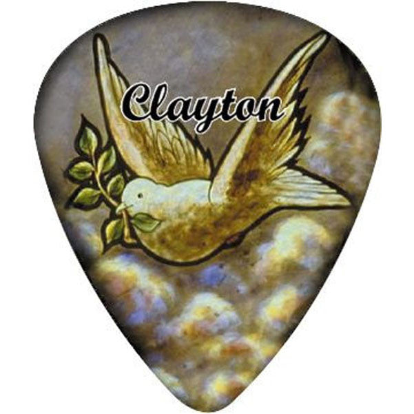 Clayton Dove Guitar Pick .50MM 1 Dozen