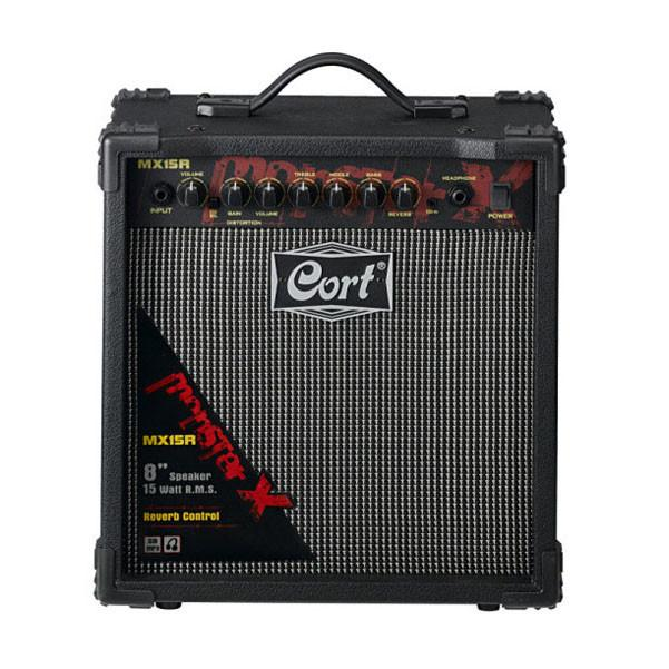 Cort MX15R 15W Guitar Amplifier with Overdrive and Reverb
