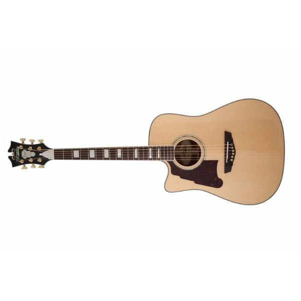D'Angelico Brooklyn Dreadnought Left-Handed Acoustic-Electric Guitar
