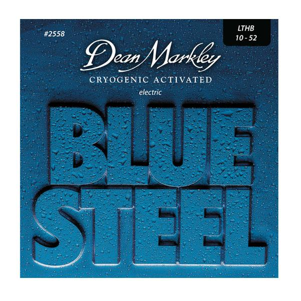 Dean Markley 2558 Blue Steel 6-string Electric Guitar Strings Light Top Heavy Bottom - 10-52