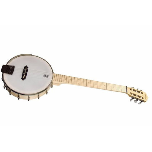 Deering Goodtime Solana 6 Banjo Nylon String Acoustic-Electric Banjo