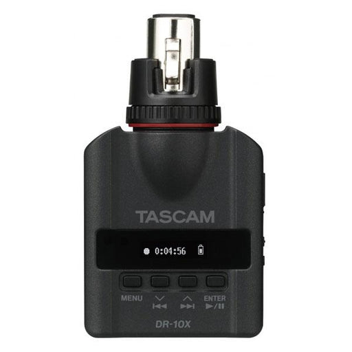 Tascam DR-10X Plug-ON Micro Linear Portable Field Recorder for XLR Connections
