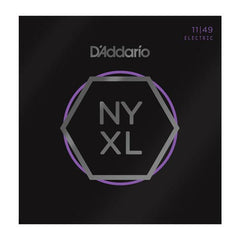 D'Addario NYXL1149 Electric Guitar Strings Nickel Wound Medium 11-49