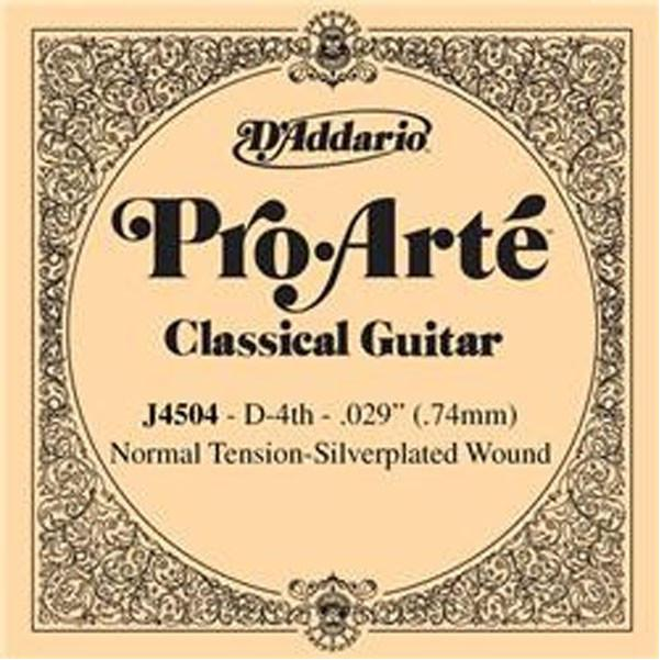 D'Addario Pro Arte Normal Cl-4th Str J4504 Classical Guitar Strings Set of 3