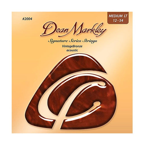 Dean Markley 2004 Acoustic Guitar Strings - Vintage Bronze 12-54