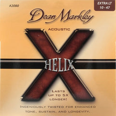 Dean Markley 2080 Acoustic Guitar Strings - HELIX, XL