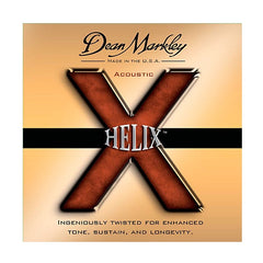 Dean Markley 2082 Acoustic Guitar Strings - HELIX, Custom Light