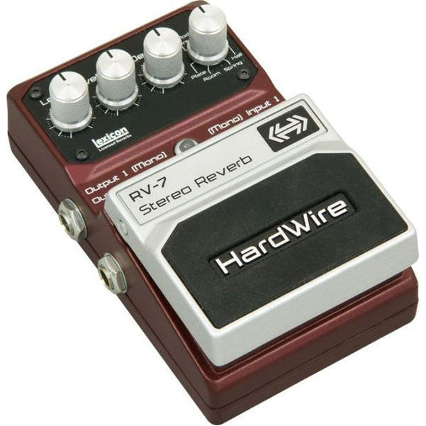 DigiTech Hardwire RV-7 Series Reverb Guitar Effects Pedal