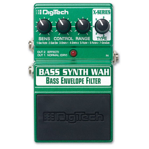 DigiTech XBWV Bass Synth Wah Effects Pedal