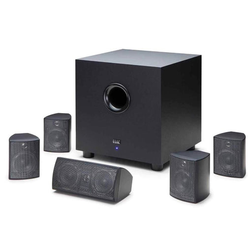 Elac Cinema 5 Set 5.1 Channel Home Theater Speaker System- Black