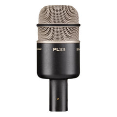 Electro-Voice PL 33 Dynamic Microphone - Satin Black