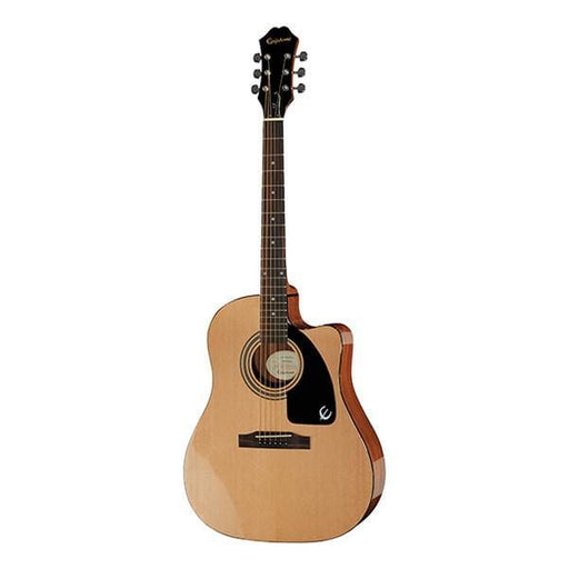 Epiphone AJ-100CE Jumbo Cutaway Electro Acoustic Guitar - EE1CNACH1