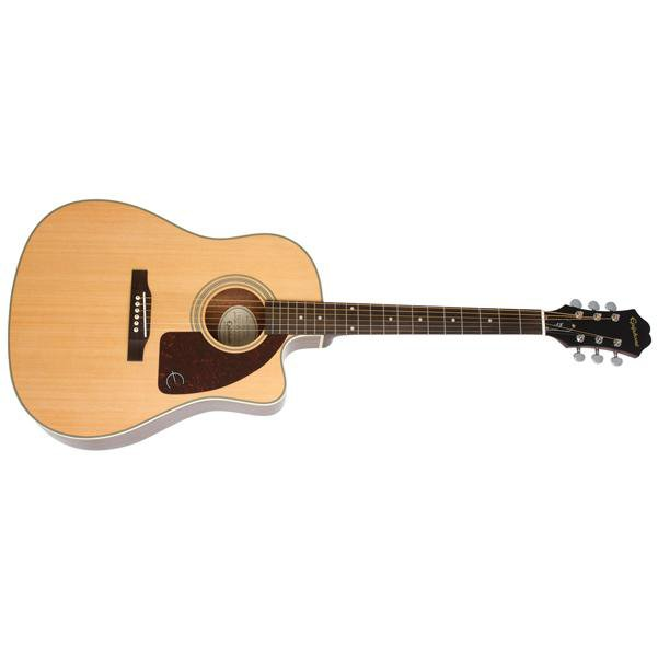 45930c64bd2 Epiphone AJ-210CE Outfit 6-String Electro Acoustic Guitar With Hard Ca