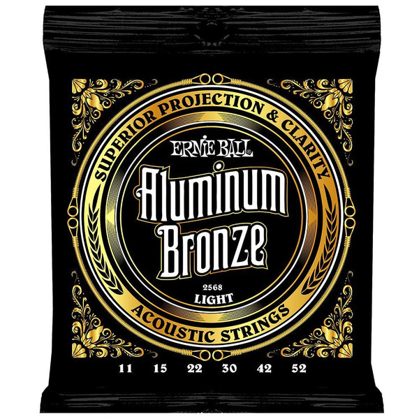 Ernie Ball 2568 Aluminium Bronze Light Acoustic Guitar String Set
