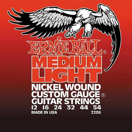 Ernie Ball 2206 Nickel Wound Medium Light Electric Guitar Strings