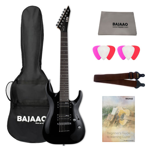 ESP LTD M-10-FR Electric Guitar With Gigbag, Polishing Cloth, Strap, Picks & Ebook