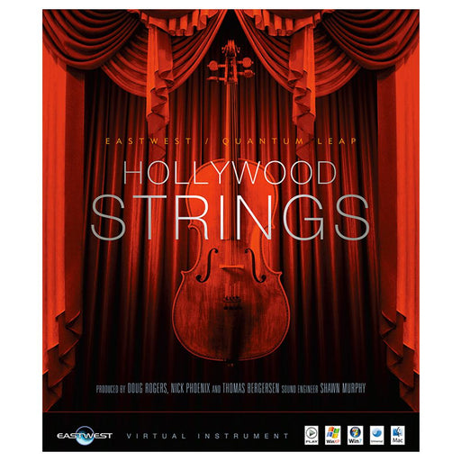 EastWest Hollywood Strings Virtual Instrument Downloadable Software & Plug-in - Silver Edition