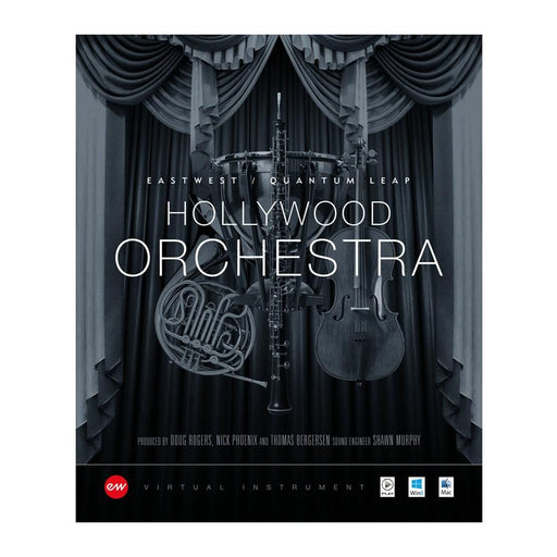 EastWest Hollywood Orchestra & Solo Intruments Virtual Instrument Downloadable Software & Plug-in