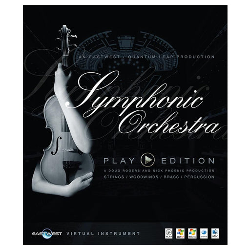 EastWest Symphonic Orchestra Virtual Instrument Downloadable Software & Plug-in - Silver Edition