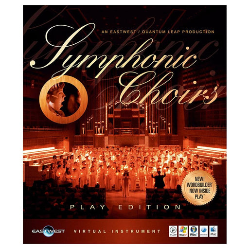 EastWest Symphonic Choir Virtual Instrument Downloadable Software & Plug-in - Gold + Vota Bundle