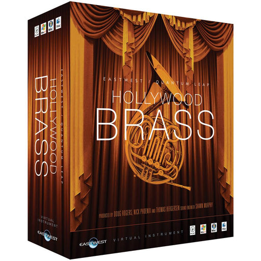 EastWest Hollywood Brass Virtual Instrument Downloadable Software & Plug-in - Silver