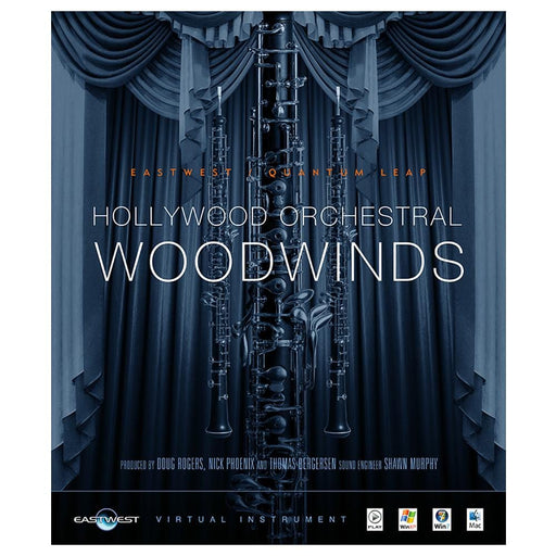EastWest Hollywood Orchestral Woodwinds Virtual Instrument Downloadable Software & Plug-in - Silver